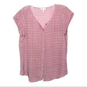 Joie Pink Silk Blouse